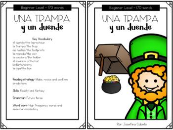 St Patrick's Day in Spanish Reading Activities - Dia de San Patricio