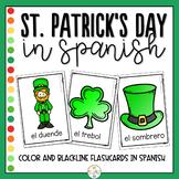 St Patrick's Day in Spanish Flashcards - Dia de San Patricio