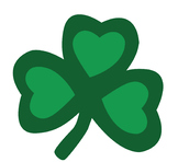 St. Patrick's Day leaf hearts