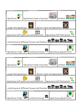 St. Patrick's Day literacy compare and contrast Independent Practice