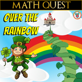 St Patrick's Day math Quest - Over the Rainbow (Differentiated Bundle)