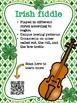 St. Patrick's Day music bulletin board