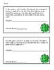 St. Patrick's Day word problems for 2nd grade