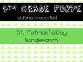 St. Patrick's Day wordsearch