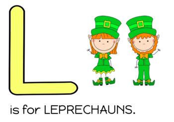 St. Patrick's Day Playdoh Mats