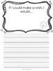 St. Patrick's Day Creative Writing Prompts on Decorative Lined Paper