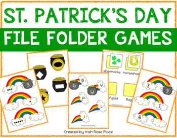 St. Patrick's File Folder Bundle