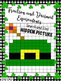 St. Patrick's Finding Fraction and Decimal Seek and Find H