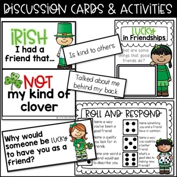 St. Patrick's Friendship Skills Activities