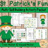 St. Patrick's Fun Fine Motor and Visual Motor Skills Packet