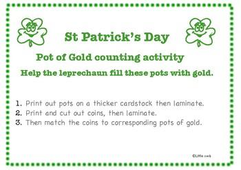 St Patrick's Games; Kindergarten