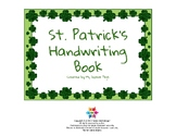 St. Patrick's Handwriting Book