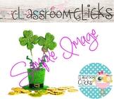 St. Patrick's Hat & Coins Image_327:Hi Res Images for Bloggers & Teacherpreneurs