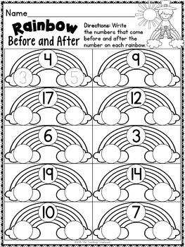St. Patrick's Kindergarten Pack ~ Print & Go, No Prep ~ CCSS Aligned