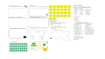 St. Patrick's / March Day Lessons and Activities