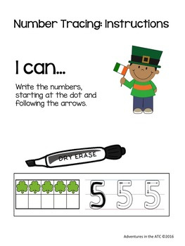 St. Patrick's Math Centers and Games