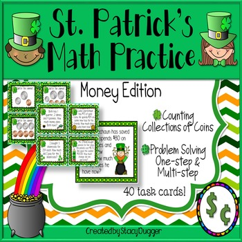 St. Patrick's Math ~ Money Edition