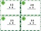 St. Patrick's Multiplication Task Cards:  Regrouping