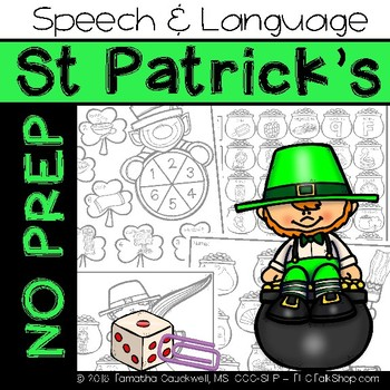 St. Patrick's: No Prep Speech and Language