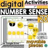 St Patrick's Number Sense for Google Slides DISTANCE LEARNING