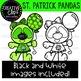 St. Patrick Pandas: St. Patrick's Day Clipart {Creative Clips Clipart}