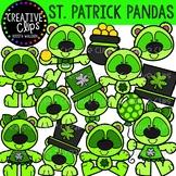 St. Patrick Pandas: St. Patrick's Day Clipart {Creative Cl