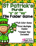 "St. Patrick's Plurals ""s"" or ""es"""