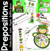 St. Patrick's Activities Prepositions of Place
