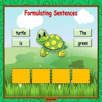 St Patrick's Prepositions and Sentence Formulation PDF VERSION - Teletherapy
