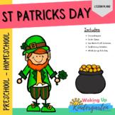 St Patrick's Preschool Activities   Lesson Plan-Comprehens