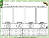 PreK/Kindergarten St. Patrick's Math Practice