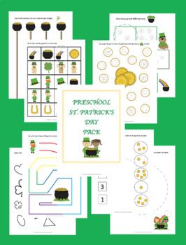 St. Patrick's Preschool Pack