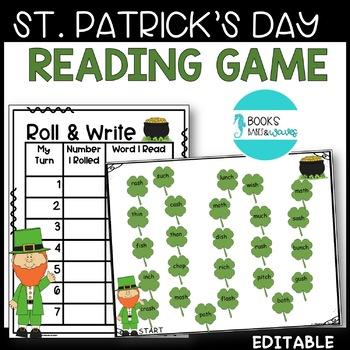 St. Patrick's Reading Activity