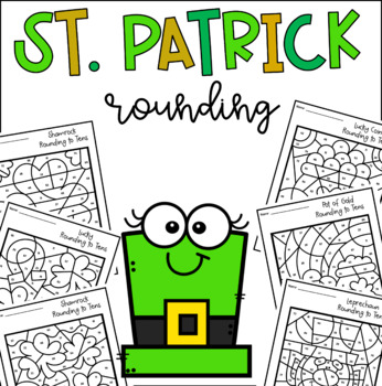 St. Patrick's Rounding to Tens and Hundreds