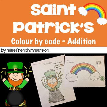 St. Patrick's - Colour by Code (Addition)