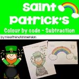 Saint Patrick's - Colour by Code (Subtractions)