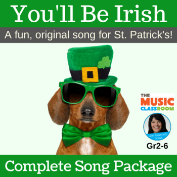 "St. Patrick's Song | ""You'll Be Irish"" by Lisa Gillam | Co"
