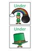 St. Patrick's Spatial Concept Flashcards