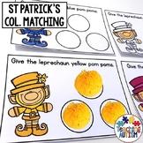 St Patrick's Task Cards, Independent Work Tasks