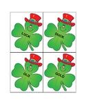 St. Patrick's Theme Rhyming Memory