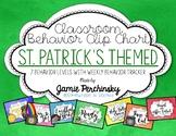 St.Patrick's Themed Behavior Chart with Behavior Tracker Sheets