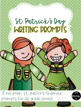 St. Patrick's Writing Prompts