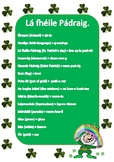 St. Patrick's day Irish vocabulary (phonetically spelled)