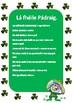 St. Patrick's day Irish vocabulary (phonetically spelled)