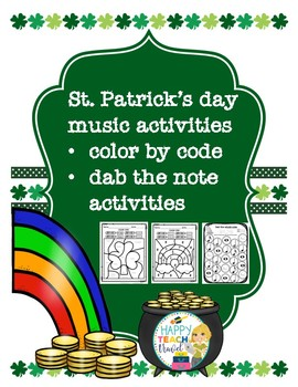 St. Patrick's Day music activities