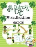 St. Patrick's day music vocalization cards