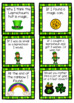 St Patrick's day writing prompts, interactive poem, games, and a craft