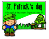 St Patrick's day writing prompts, interactive poem, games,