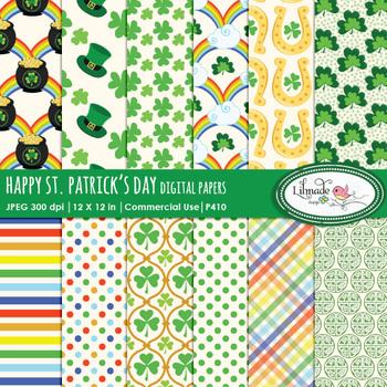 St. Patrick's digital papers