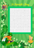 St Patrick wordsearch